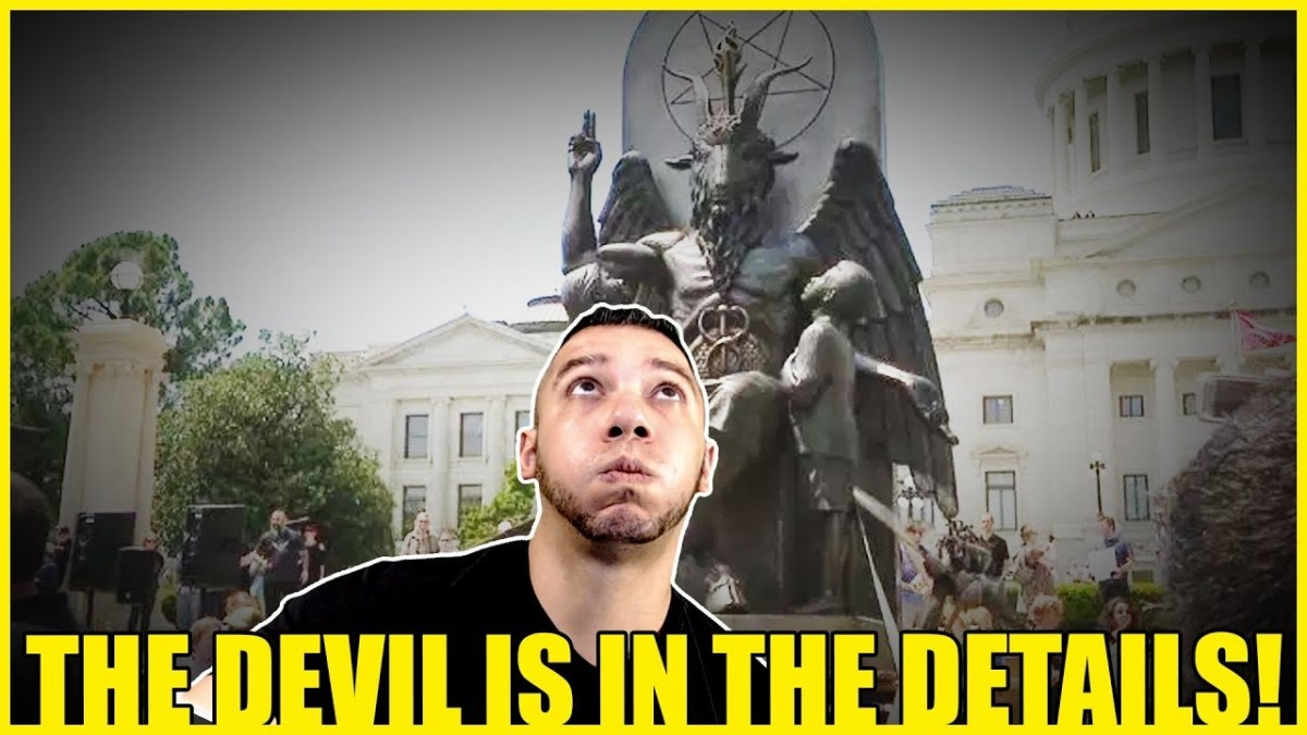 The Truth About The Baphomet Statue. The Devil's In The Details!